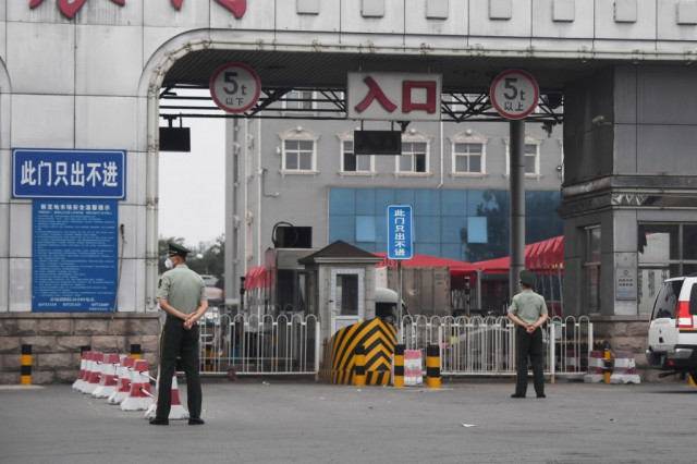 Fresh China cluster raises fears for pandemic control