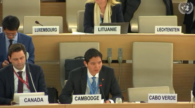 Cambodian Representative to UN Lashes Out at Special Rapporteur