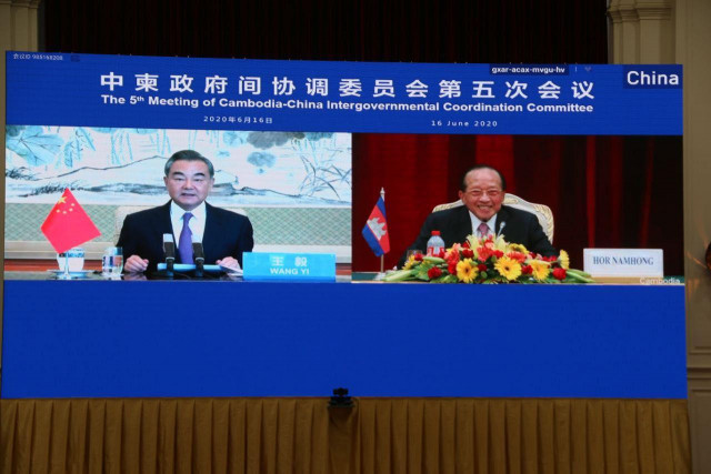 China and Cambodia Vow to Take Action Against Those Politicizing COVID-19