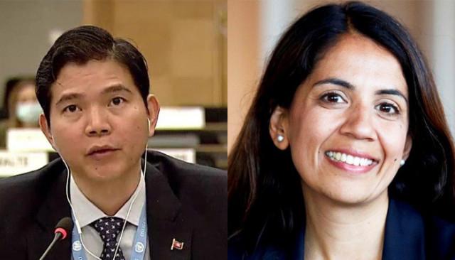 UK Human Rights Ambassador to the UN Calls on Cambodia to Restore Democracy