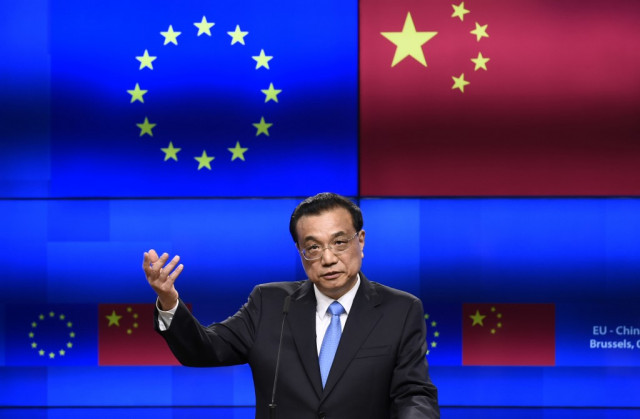 With ties in the balance, EU and China hold tense summit