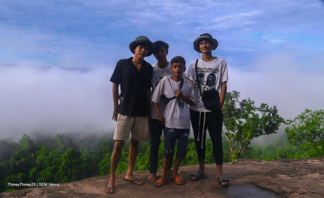 Mrech Kangkep Mountain: A Spectacular View on Top of the World