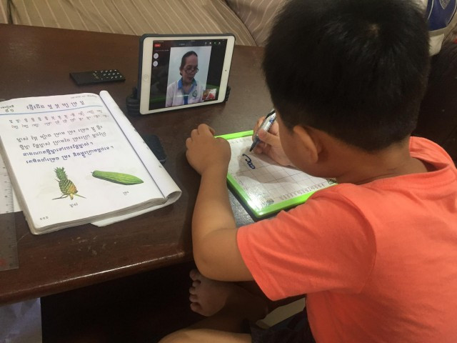 School Students at Home during COVID-19: Parents Speak of the Challenges