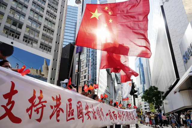 China adopts law on safeguarding national security in Hong Kong