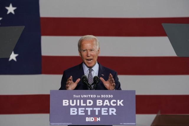 Challenging Trump on economy, Biden unveils $700 bn recovery plan