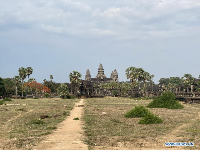 Int'l tourist arrivals to Cambodia down 59 pct in first 5 months due to COVID-19