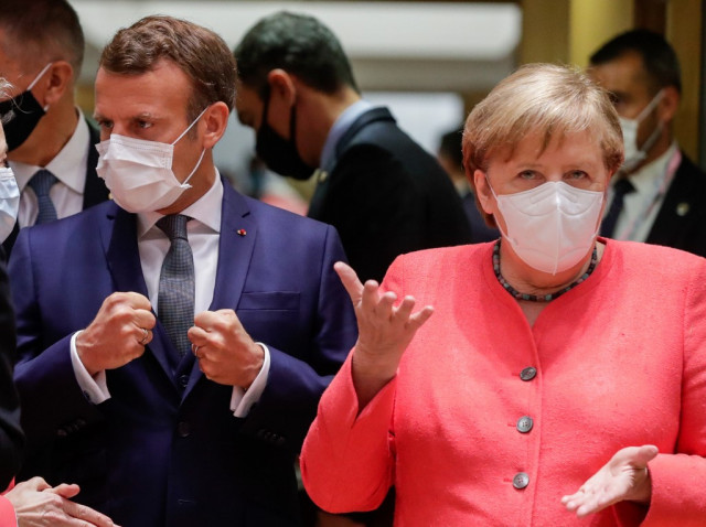 EU meets on virus rescue plan as India passes one million cases