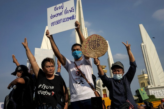 Come out or lose': Thai youth take to street in pro-democracy protest