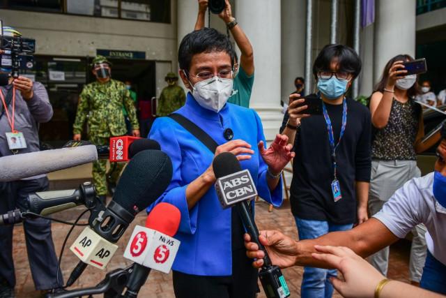 Duterte-critic journalist pleads not guilty in Philippine tax case