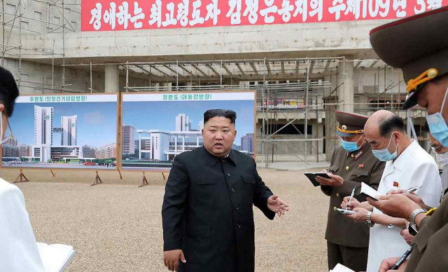 North Korea's Kim says nuclear deterrent crucial