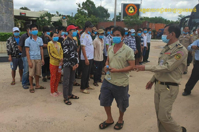 Vietnamese Nationals Are Deported from Cambodia