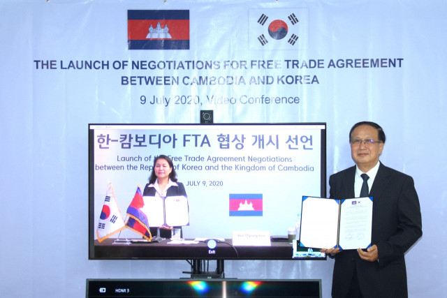 Cambodia and South Korea Kick off Talks on a Free Trade Agreement