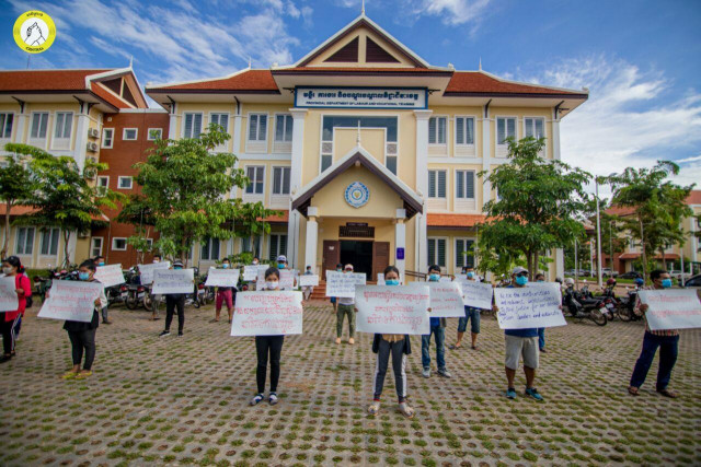 Staff at Le Meridien Angkor Hotel Demand Reinstatement of Union Activists