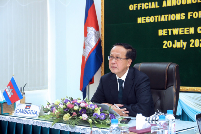 Cambodia-China FTA to boost bilateral trade, investment ties: Cambodian minister