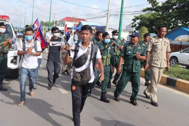Six Arrested After Security Forces Clash with Peaceful Protesters