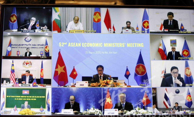 ASEAN economic ministers discuss recovery from COVID-19 epidemic