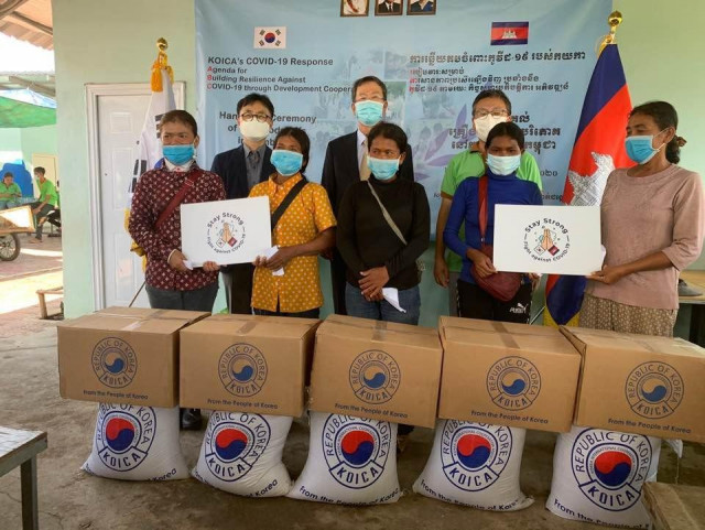 South Korea Provides Necessity Supplies to Support Cambodians amid COVID-19
