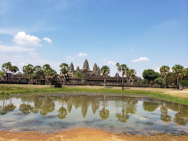 Cambodia's Angkor sees 74 pct drop in foreign visitors in first 8 months
