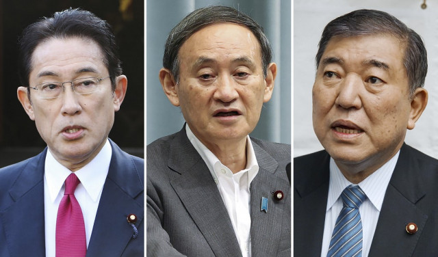 Japan ruling party sets Sept 14 vote on PM Abe's successor