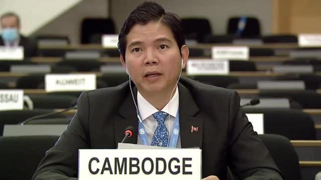 """Cambodian UN Representative Claims Freedoms """"Cherished"""" in Cambodia"""