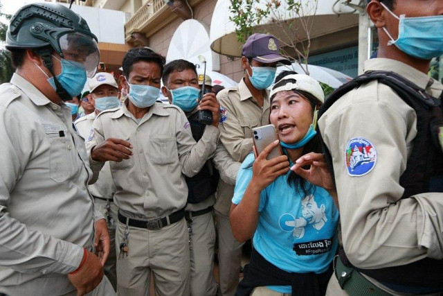 The OHCHR Calls for Cambodia to Stop Measures against Activists