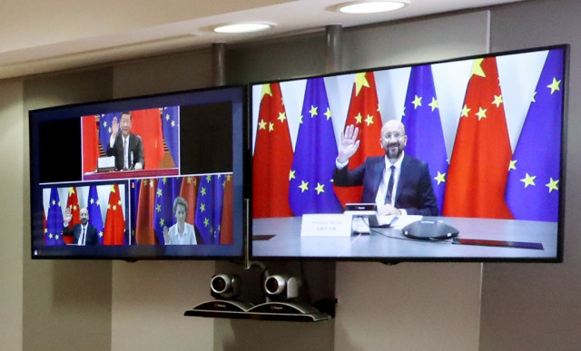 EU and China talk trade despite rifts