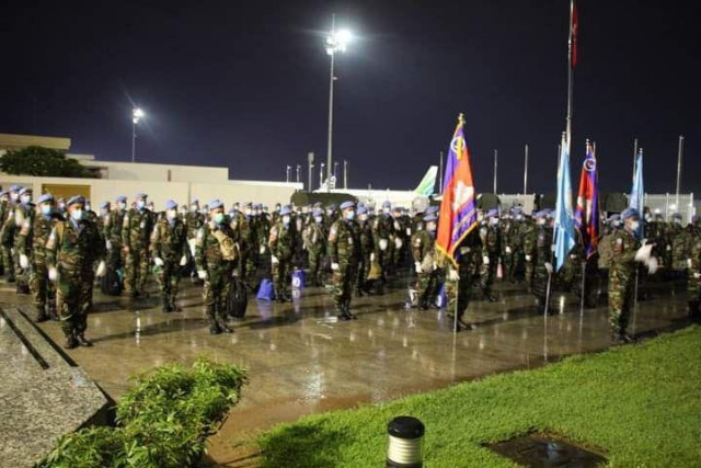 Cambodian Peacekeepers Quarantined following Return from Mali