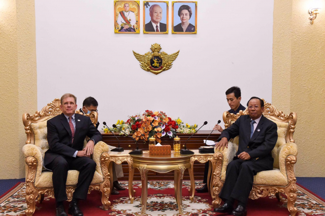 Ream Naval Base Exclusively for Cambodia, Banh tells US Envoy