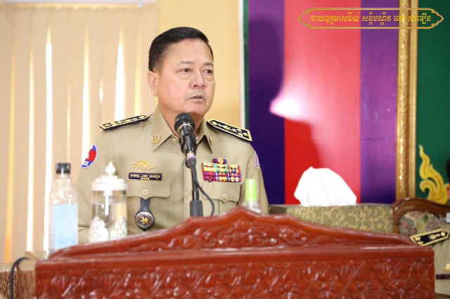 National Police Commissioner Warns Against Rebels Crossing Borders