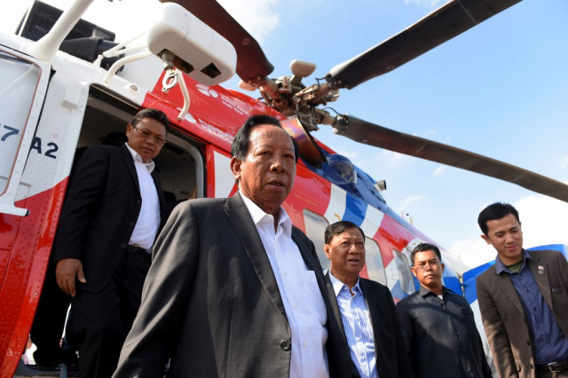 Cambodia confirms US-funded defence facility has been razed