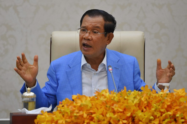 Hun Sen Again Denies Allegations of Chinese Military Base