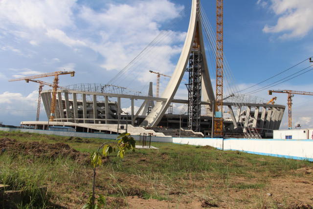 Completion of Main Stadium at Morodok Techo Sports Complex Delayed until May 2021