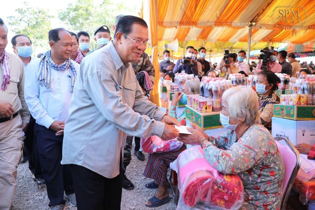 Hun Sen Says One Million Jobs to Be Created through Infrastructure Projects