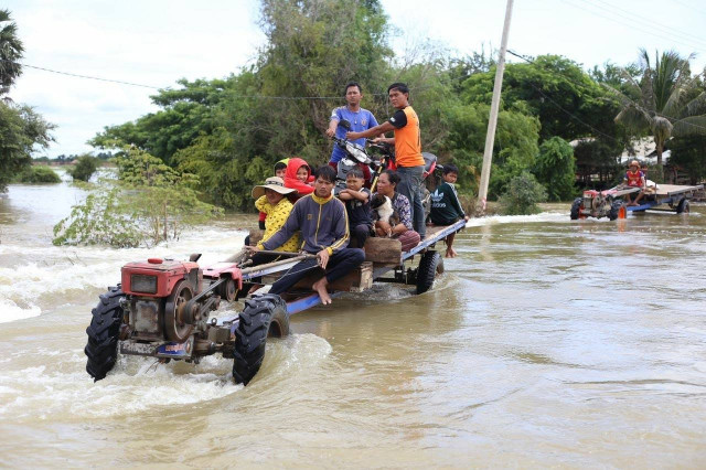 Death Toll from Flooding Rises to 43 in Cambodia