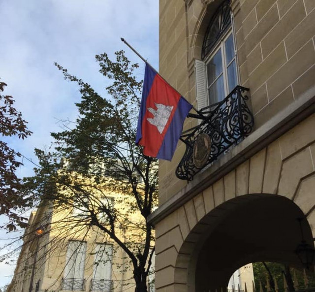 Four Test Positive for COVID-19 at Cambodian Embassy in France