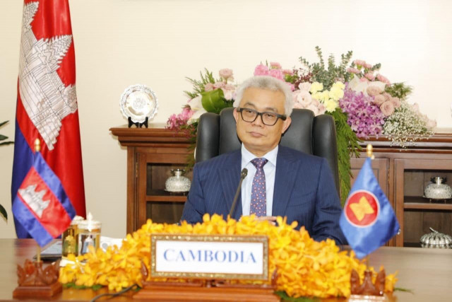 No Foreign Military Base Will Be Allowed on its Soil, Cambodia Says at the 15th East Asia Summit