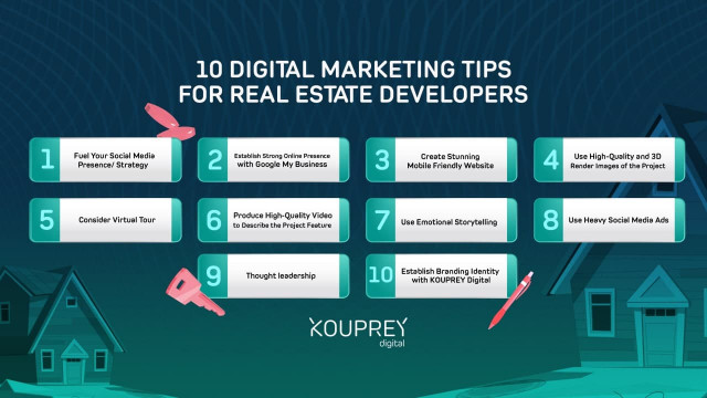 10 Digital Marketing Tips for Real Estate Developers