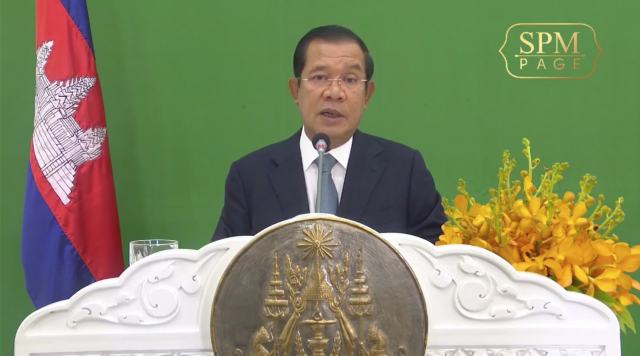 Hun Sen Calls on Developed Nations to Provide Financing to Address the Climate Crisis