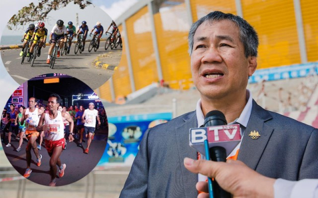 Olympic Committee Hopes Sport Events in Preah Sihanouk Will Boost Local Tourism