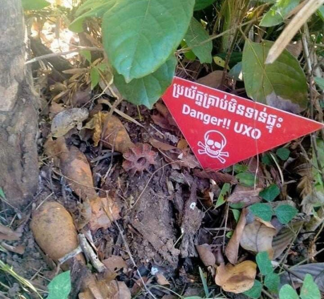 Landmine/UXO casualties in Cambodia down 16 pct last year