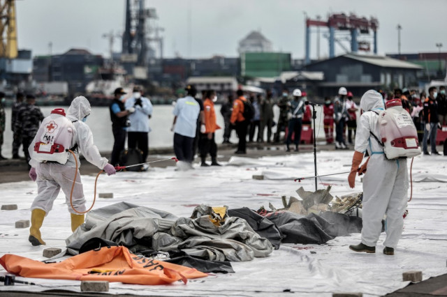 Indonesia says located black box recorders from crashed plane