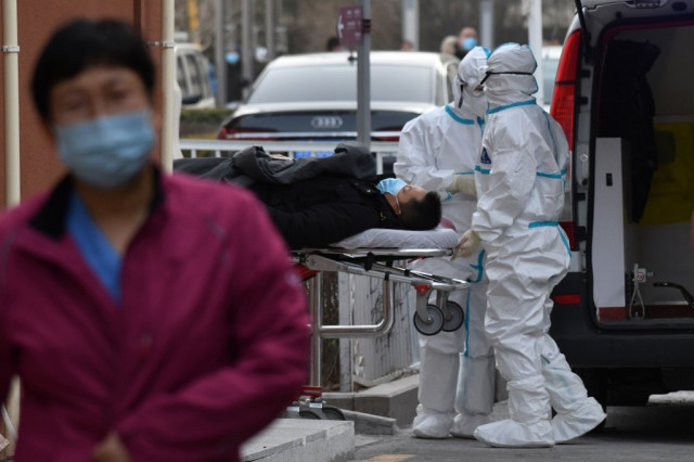 China reports first virus death in eight months