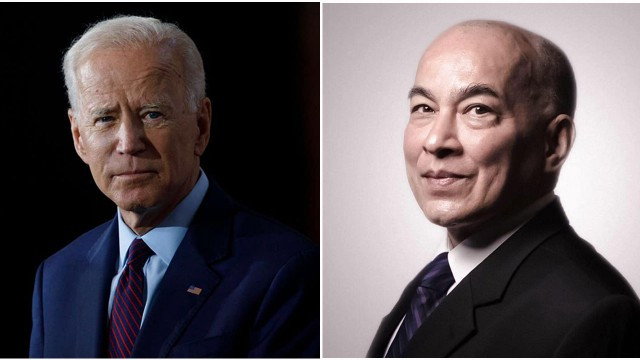King Norodom Sihamoni Congratulates U.S. President Joe Biden on his Inauguration