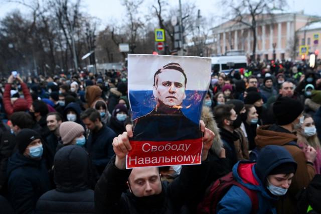EU mulls response to Russia's Navalny crackdown