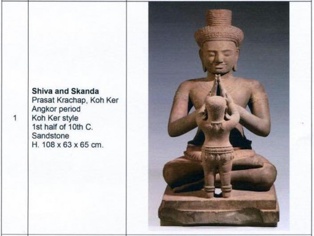 More than 100 Khmer Artifacts to Be Returned to Cambodia by Douglas Latchford's Family