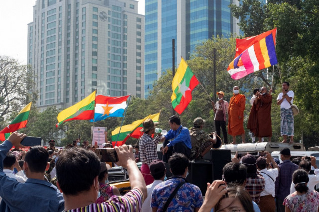 Anger and confusion in Myanmar as coup sweeps away democratic hopes