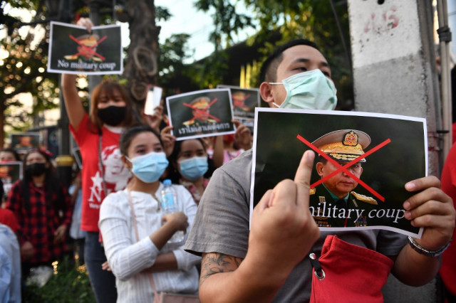 Myanmar coup tests Biden democracy push but with few options