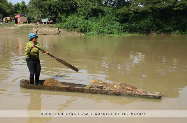 Sugar Palm Boats in Cambodian Fisheries