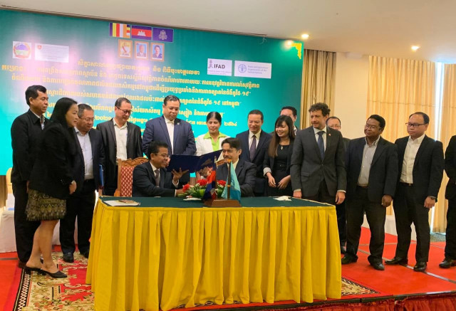 Cambodia, FAO launch project to support most vulnerable people affected by COVID-19