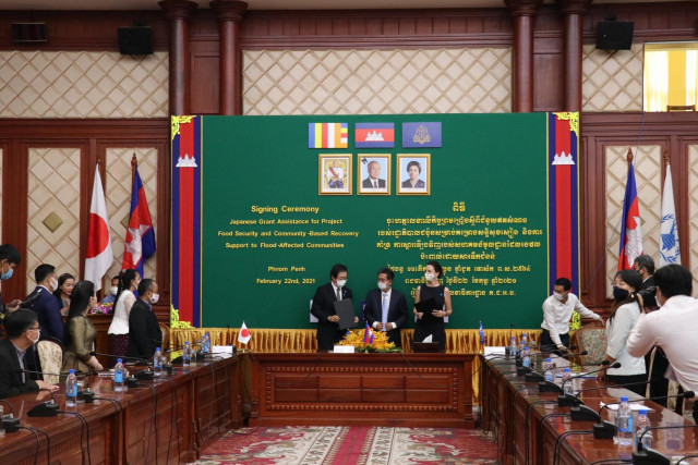 Japan Pledges $2 Million to Boost Cambodia's Food Security